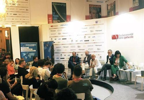 Immagine Social Film Fund Con il Sud presentato a Venezia