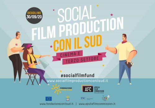Immagine Social Film Production Con il Sud: proroga di 24h