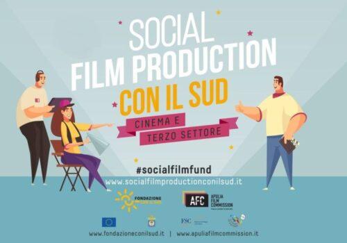 Immagine Social Film Production Con il Sud: i 10 progetti selezionati